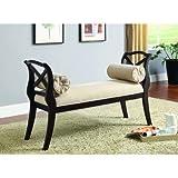 Furniture of America CM-BN6141-EXP Philipsberg Espresso Bench Seating