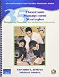 img - for 35 Classroom Management Strategies: Promoting Learning and Building Community book / textbook / text book