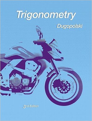 Amazon trigonometry 3rd edition 9780321644756 mark amazon trigonometry 3rd edition 9780321644756 mark dugopolski books fandeluxe Gallery