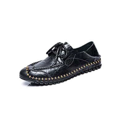 0c59446fba00bb Handgefertigte Casual Lace-up Sommer Herrenschuhe Mode Faule Schuhe ...