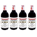 4 X La Vencedora Pure Mexican Vanilla Extract 31oz - 1L Each 4 Glass Bottles Product From Mexico