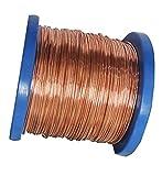 Wholesale Solid Copper Jewelry Making Wire 5 Lb Spool (Dead Soft) (22 Ga - 2,500 Ft)