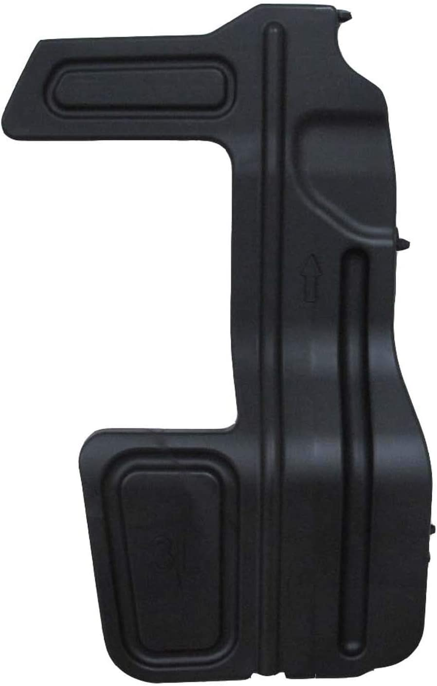 Radiator Support Air Deflector No variation Multiple Manufactures TO1225320C Standard
