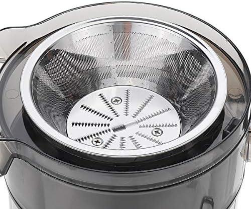 Cyiflg-yi Jus Juicer en acier inoxydable 2 Vitesse électrique Extracteur de fruits ménagers Légumes potable Machine for Maison Cuisine
