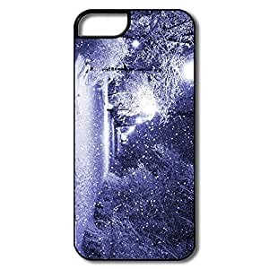 IPhone 5/5S Cases, Winter Night White/black Cover For IPhone 5