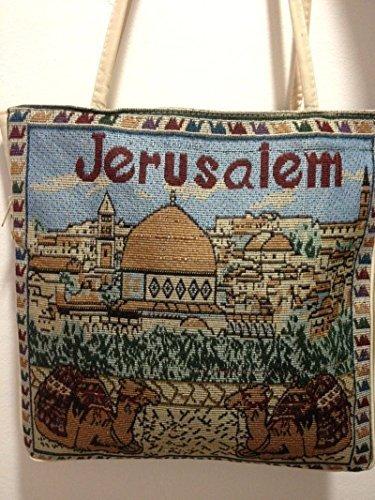 (Textile Holy Land Handbag Zipper Purse Zipper Cloth Handmade)