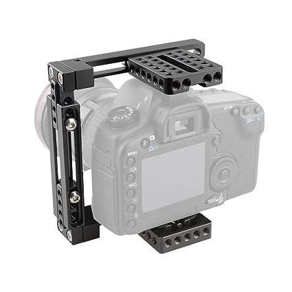 LFTS Cámaras DSLR Jaula de la cámara Ajuste Ajustable para ...