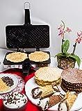 Pizzelle Maker- Non-stick Electric Pizzelle Baker