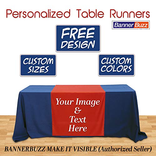 BANNER BUZZ MAKE IT VISIBLE Customized Table Runners 2