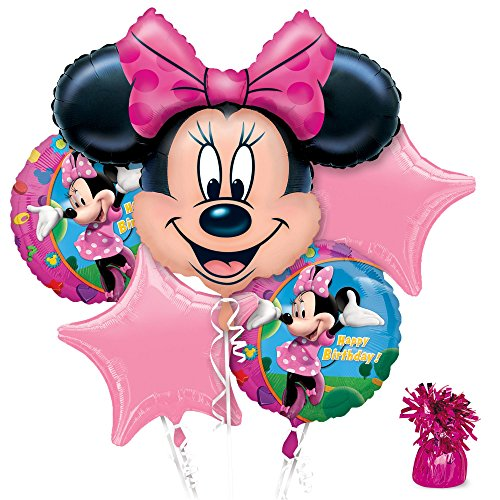 [Costume Supercenter BB102084 Minnie Mouse Party Balloon Kit] (Mouse Costumes Ideas)