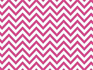 Pink and White Chevron Stripe Tissue Paper - 20 Inch x 30 Inch - 48 XL Sheets