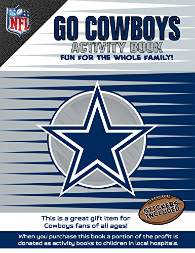In The Sports Zone NFL Dallas Cowboys Activity Book/Blue/White/One ()