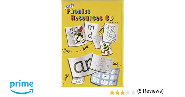 Jolly Phonics Resources CD: Print/Precursive choice: Amazon.es: Sara Wernham, Sue Lloyd: Libros en idiomas extranjeros