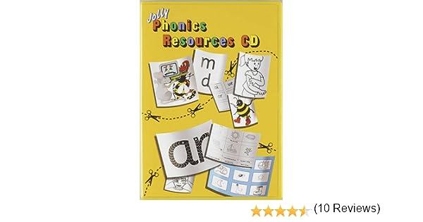 Amazon.com: Jolly Phonics Resources CD (8601405429230): Sue Lloyd ...