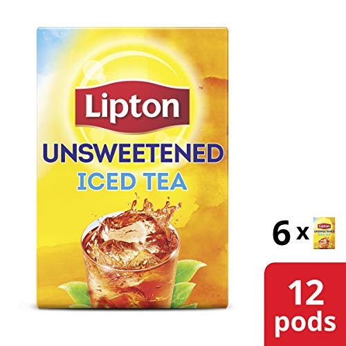 (Lipton Iced Tea K-Cups, Iced Tea Unsweetened 12 ct)