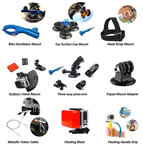 51h0%2BeqCfpL - Nomadic Gear 55-in-1 Action Camera Accessories Kit for GoPro, Sony Action Camera, Garmin, Ricoh Action Cam, SJCAM, iPhone and Android   Epic Photo Shooting 101 ebook