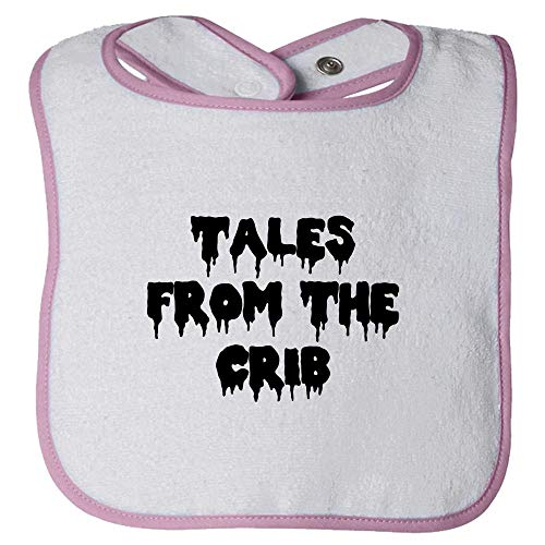 Cute Halloween Baby Bib Gift - Funny Creepy, Spooky Baby Bib Present Idea - Tales from The Crib - Many Colors Available - All Cotton -