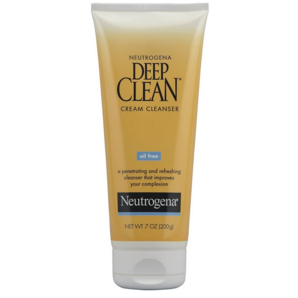 Neutrogena Deep Clean Daily Facial Cleanser with Beta Hydroxy Acid for Normal to Oily Skin, Alcohol-Free, Oil-Free Non-Comedogenic, 6.7 fl. oz Pack of 6