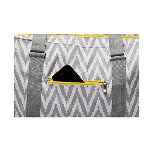 2bdcad0ac Amazon.com : RYCO Chevron Tote Diaper Bag : Baby