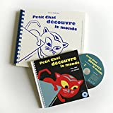 img - for Petit Chat D'Couvre Le Monde (+ CD + Braille) (English and French Edition) book / textbook / text book