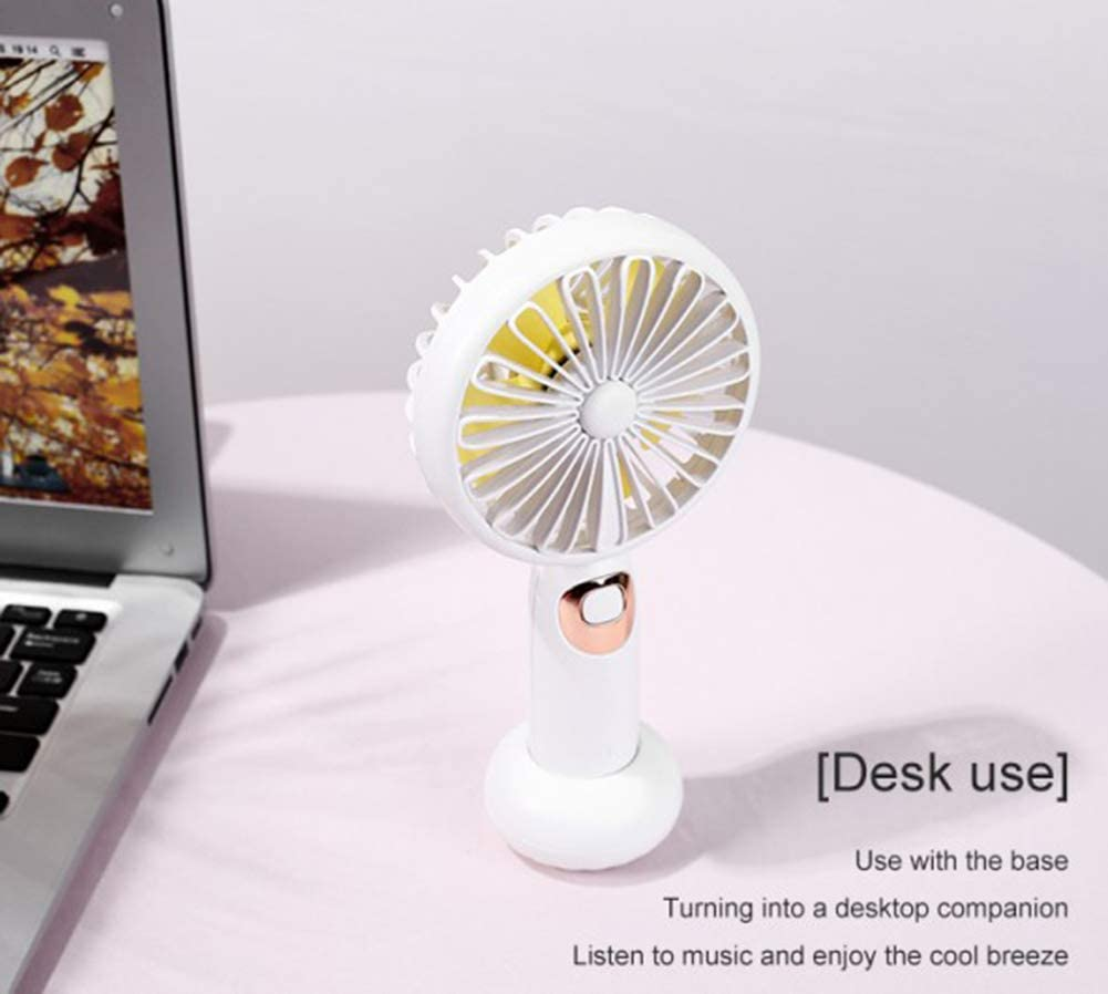 Lin Yi Portable USB Fan Bluetooth Speaker Fan You can Connect Bluetooth Within 10 Meters Personal Fan for Home and Office use