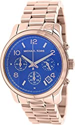 Michael Kors Runway Rose Gold-Tone Stainless Steel Chronograph Women's watch #MK5940