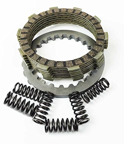 Paddsun Complete Clutch Kit Friction Steel Plates Springs for Yamaha Blaster 200 YFS200 1988-2006 (Yamaha Blaster 2001)