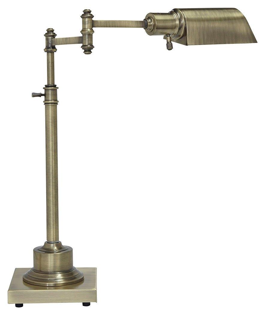 Signature Design by Ashley L734172 Arawn Desk Lamp, Antique Brass Finish by Signature Design by Ashley