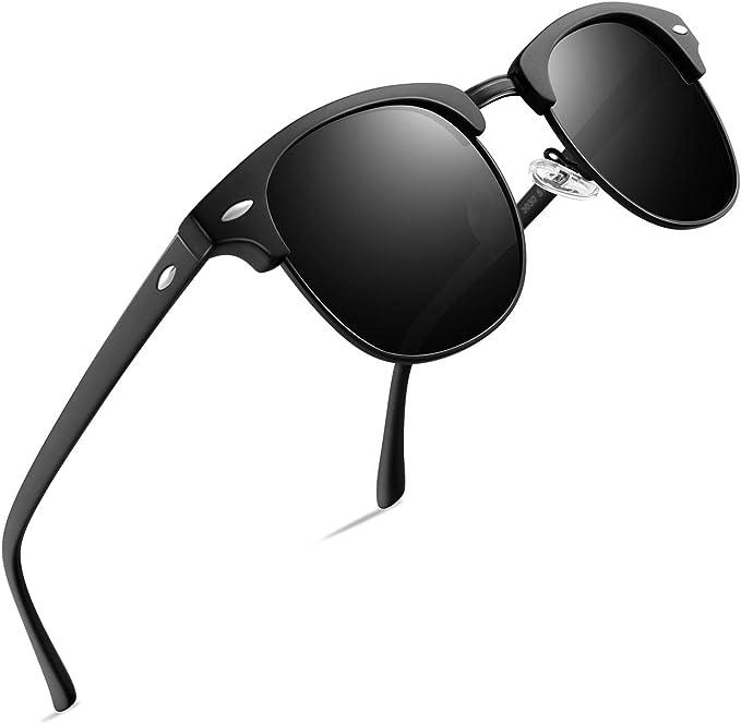Amazon.com: FEIDU FD3030 - Gafas de sol polarizadas retro ...