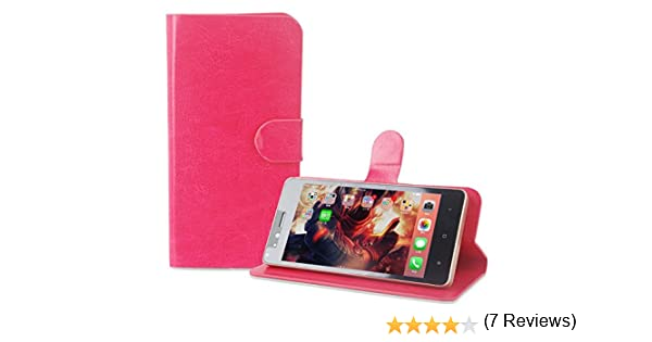 PREVOA Flip PU Funda Case Protictive para Onix S501 Smartphone 5,0 ...
