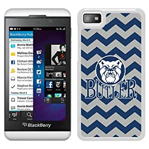 NCAA Butler Bulldogs 03 White Hard Phone Case For Blackberry Z10