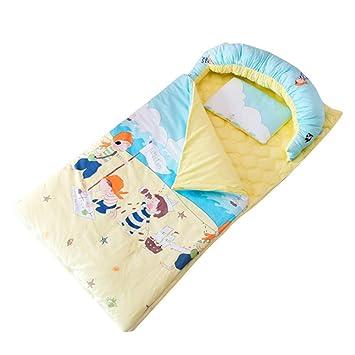 JSIHENA Saco Dormir Algodón Recién Nacido bebé Anti-Patada Saco de ...