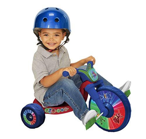 PJ Masks 10 Fly Wheels Junior Cruiser Ride-On, Ages 2-4