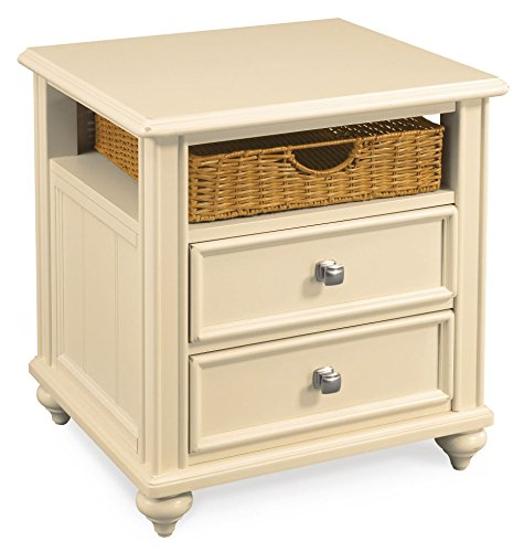 Hammary Side Table in Buttermilk Finish