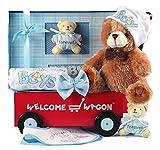 Silly Phillie Welcome Wagon Newborn Baby Boy Gift