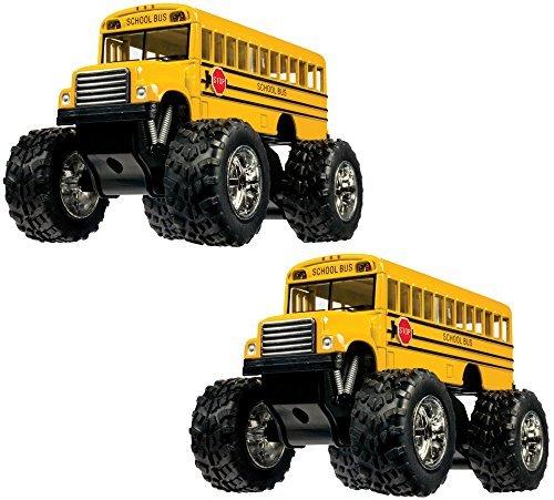 Toysmith 05020 Large Die Cast School Bus