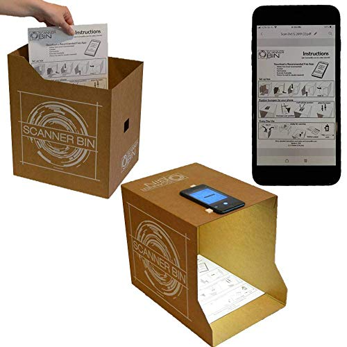 Scanner Bin - The Clever Document Scanning Solution
