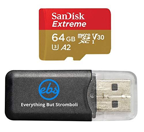 64GB Sandisk Micro SDXC Extreme 4K MicroSD Flash Memory Card