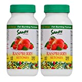 Sanar Naturals Raspberry Ketones, Advanced Antioxidant & Green Tea Extract for Weight Loss, Appetite Suppression, 120 Count For Sale