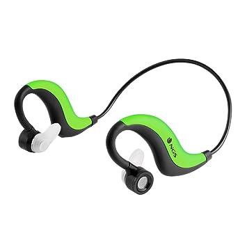 NGS Artica Runner - Auriculares deportivos de contorno de cuello, color verde: Ngs: Amazon.es: Electrónica