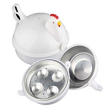 Amazon.com: Cocina de huevos con forma de pollo, para ...