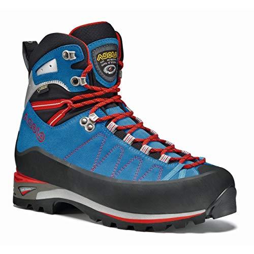 Asolo Elbrus GV Mountaineering Boot - Men's - 12 - Blue/Astor Silver ()