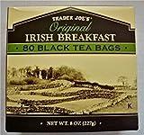 2 X Trader Joe's Original Irish Breakfast Tea (80 Black Tea Bags Per Box)