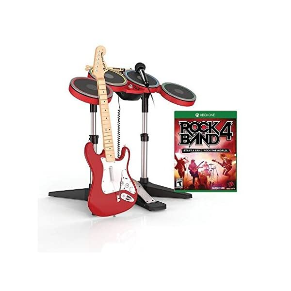 Xbox One Rock Band 4 Exclusive RED Band In-A-Box Bundle 1