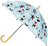Hatley Little Boys' Umbrella, Pirate Dogs, One Size