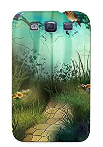 For Galaxy Case, High Quality Forest Wildlife For Galaxy S3 Cover Cases / Nice Case For Lovers' Gifts