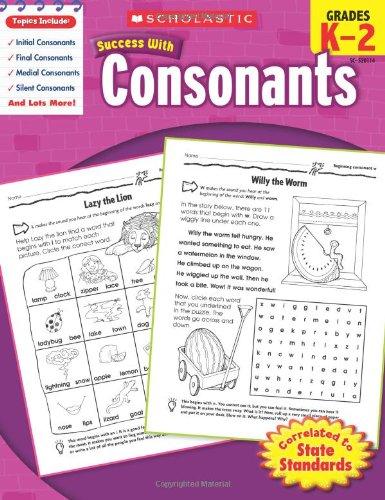 Download Scholastic Success with Consonants ebook