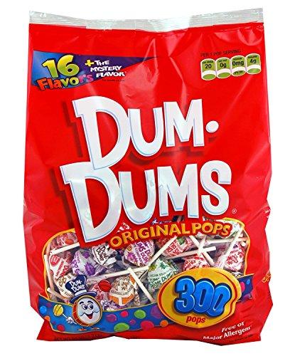 DUM DUMS Lollipops,0.17 Oz (300 Count)