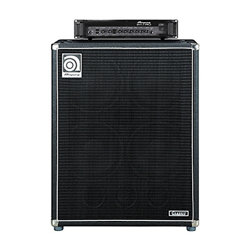 Ampeg SVT-7PRO SVT-410HLF | Tube Preamp D Class Power Amp with Bass Cabinet Enclosure Bundle