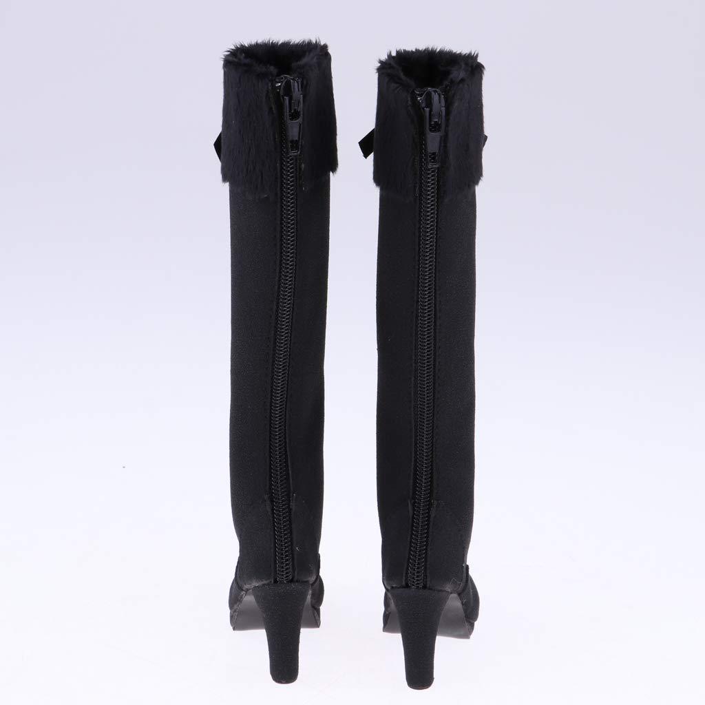 Kaki KESOTO V/êtements Accessoires Bottes Hauteur du Genou pour 1//3 BJD Dolls Jouet Interactif